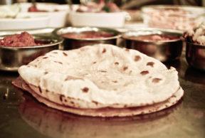 Pane indiano (roti o chapati)