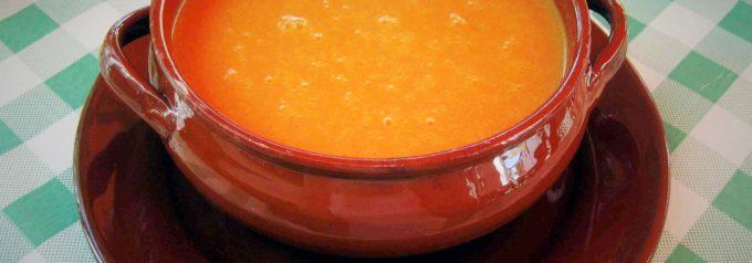 Preparazione del gazpacho