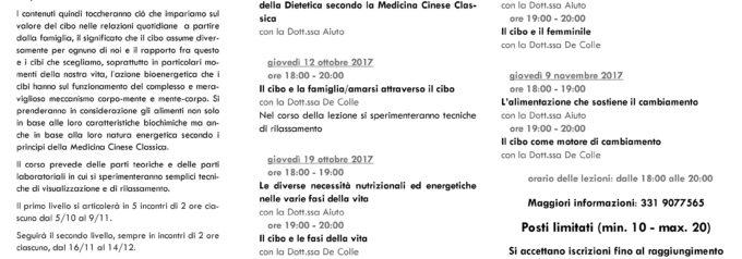 3a edizione del Per-Corso di Psicoeducazione alimentare