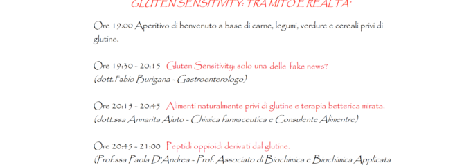 Gluten sensitivity: tra mito e realtà